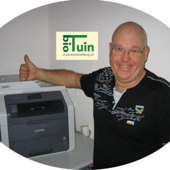 Printer Biotuin Tilburg | Jopiefonds